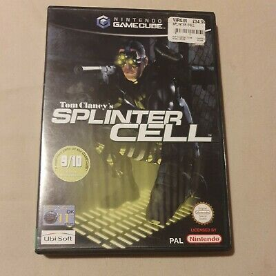 $ CDN12.05 • Buy Tom Clancy's Splinter Cell (PAL) Nintendo Gamecube Complete With Manual