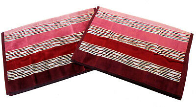 £27 • Buy MISSONI HOME 2 HAND TOWELS NORMAN 156 INDIVIDUAL PACKAGING  COTTON VELOUR 40x60