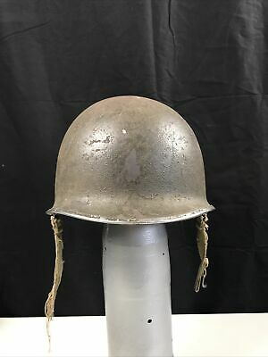 $260 • Buy WWII US ARMY USMC M1 Helmet Front Seam Fixed Bale Capac Liner