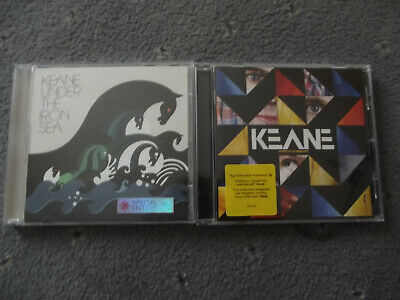 £3 • Buy Keane CD Albums - Under The Iron Sea & Perfect Symmetry. Excellent Condition