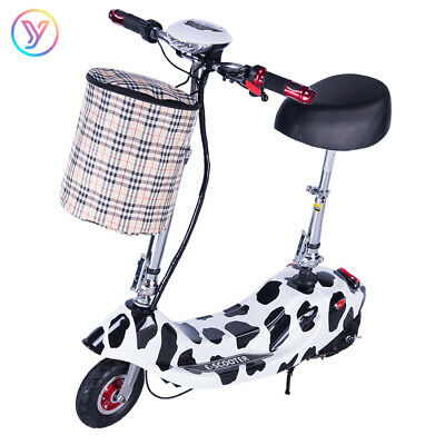 AU287.61 • Buy 350W Electric Scooter Portable Fold Commuter Bike Motorised Scooters Riding New