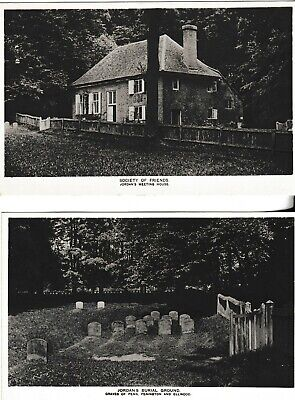 £1.25 • Buy Chalfont St Giles - Jordans Quaker Meeting House & Burial Ground - 2  Post Cards