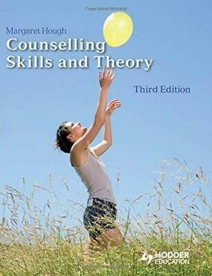 £8.07 • Buy Counselling Skills And Theory, Very Good Condition Book, Margaret Hough, ISBN 97