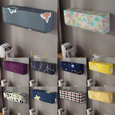 AU7.69 • Buy Universal Hanging Air Conditioner Cover Elastic Fabric Dustproof Protective Case