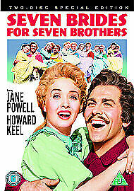 £6.99 • Buy Seven Brides For Seven Brothers (2 Disc Special Edition) [1954] [DVD] NEW SEALED