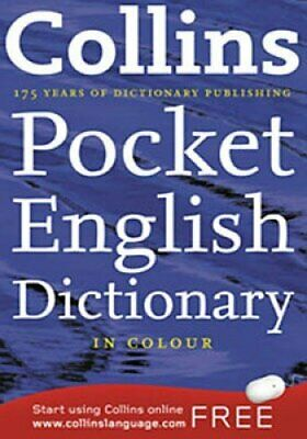 £4.95 • Buy Collins Pocket English Dictionary In Colour Easy To Use With Words & Definition