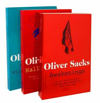 £11.05 • Buy Oliver Sacks 3 Books Collection Set (The Man Who Mistook His Wife For A Hat, Hal