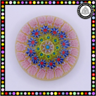 £19.99 • Buy Small Early Pastel Perthshire/Strathearn Millefiori Paperweight