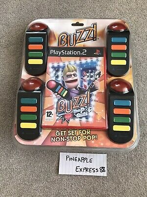 £29.99 • Buy Buzz! The Pop Quiz *BRAND NEW & SEALED* - PlayStation 2 PS2 - Game/Buzzers