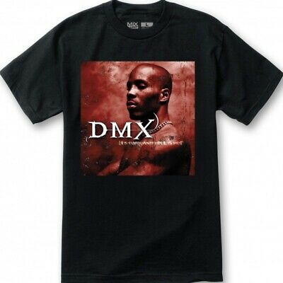 £9.45 • Buy DMX Its Dark And Hell Is Hot T Shirt New S-4XL Ruff Ryders Long Live X