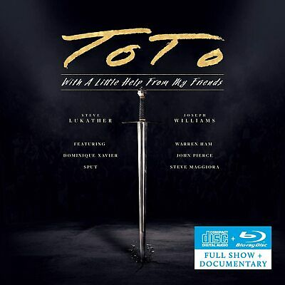 £16.20 • Buy TOTO With A Little Help From My Friends CD+Blu-ray NEW & SEALED 2021