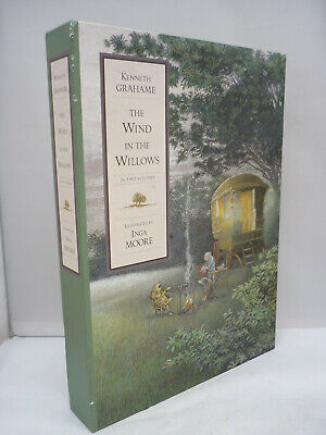 £17.50 • Buy The Wind In The Willows - Kenneth Grahame - 2 Volume Box Set - Illust Inga Moore