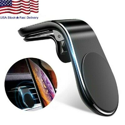 $10.98 • Buy Magnetic Car Phone Holder Clip Air Vent Bracket Mount Shape Auto Accessories USA