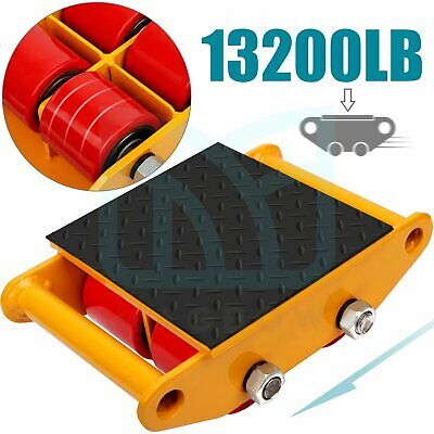$52.99 • Buy 13200lb Heavy Duty Machine Dolly Skate Machinery Mover Machinery Roller Mover 6t