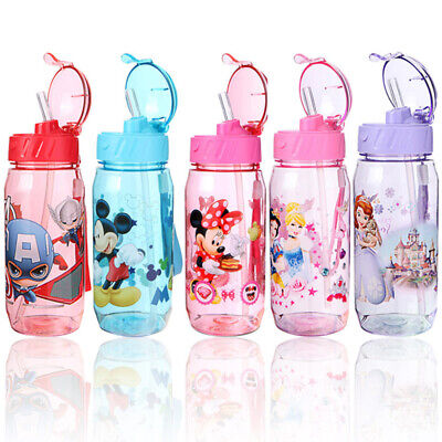 £6.99 • Buy Baby Kids Children School Drinking Water Straw Bottle Sippy Suction Cup