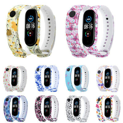$3.77 • Buy Fits Xiaomi Mi Band 5/6 Bracelet Watch Band Wrist Band Strap Replacement Durable