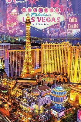 £7.99 • Buy Las Vegas : Collage - Maxi Poster 61cm X 91.5cm New And Sealed