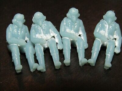 £4.99 • Buy 4 X RC Resin 1/48 Scale Spitfire Pilot Figures. Made In The UK