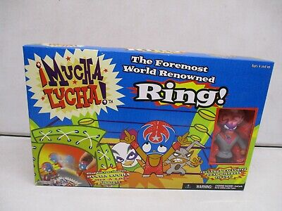 £14.41 • Buy 2003 Mucha Lucha Ring With Head Mistress