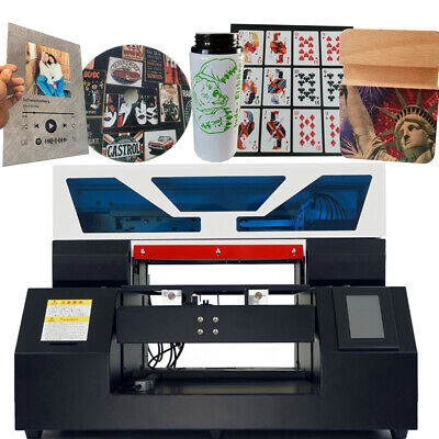 £2659 • Buy UV Printer A3 Flatbed Cylindrical  W/ R1390 Printer Head W/ Two Fixtures DHL