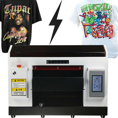 £3349 • Buy A3 DX5 Direct To Garment Printer DTG Printer T-Shirt Flatbed Printer With Holder