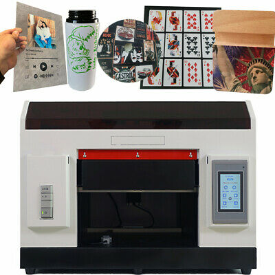 £2719 • Buy UV Printer A3 Flatbed Cylindrical Signs Glass Metal 3D Rotation Embossed 1390