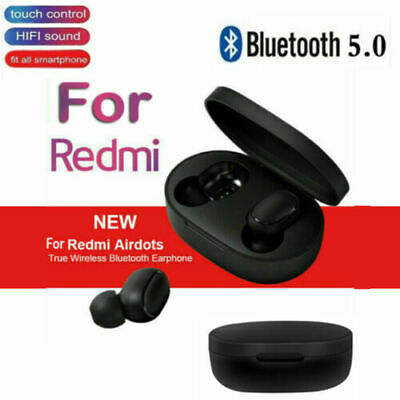 $10.79 • Buy TWS Airdots Headset Bluetooth 5.0 Headphone Stereo Earbuds For Xiaomi Redmi New