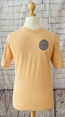 £20 • Buy Vans Off The Wall Short Sleeve Peach Large Logo T Shirt Size L