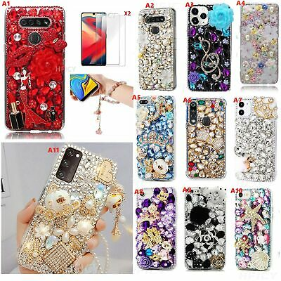 £16.98 • Buy For Samsung Galaxy Phone Case,3D Bling Diamond Crystal Sparkly Women Soft Covers