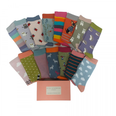 £5 • Buy Soft Bamboo Socks Buy A Single Pair Or More  And Add A Gift Box MISS SPARROW