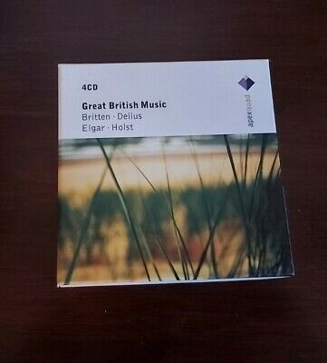 £5.99 • Buy Various Composers - Great British Music - 4 CD BOX SET EX CONDITION