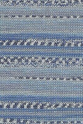 $5.95 • Buy Lang Yarns Baby Cotton Color Blue 34