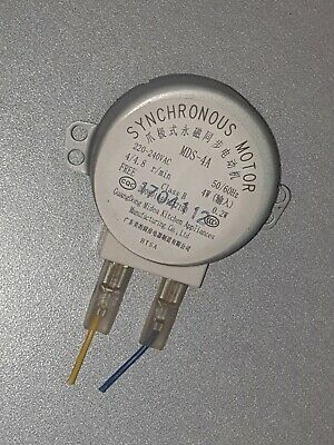 £6.99 • Buy Microwave Oven Turntable Motor Synchronous Motor MDS-4A 220V 4W