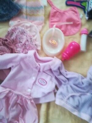 £20 • Buy Baby Annabell Baby Born Clothes Dummy Bottle Dish Hanger  Hats