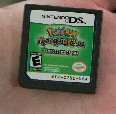 $79.09 • Buy Pokemon Mystery Dungeon Explorers Of Sky (Nintendo DS) Authentic/Tested CartOnly