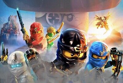£24.99 • Buy Ninja Lego Movie  Canvas Print Wall Art Picture Size 16x20 Inch 18mm