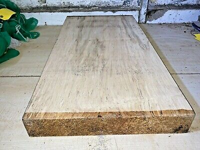 £57 • Buy 345x60x680mm Lot 642 Spalted Sycamore Woodturning Timber Blank