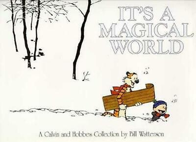 £3.62 • Buy It's A Magical World: A Calvin And Hobbes Collection, Bill Watterson, Good Condi
