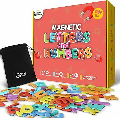 £15.99 • Buy Magnetic Letters And Numbers For Kids Learning – Alphabet Set - 104 Letters Gift