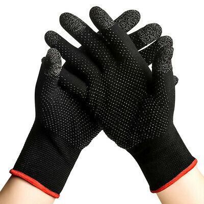 AU9.48 • Buy Sweat Proof Non-Scratch Sensitive Touch Screen Gaming Finger Thumb Sleeve Gloves