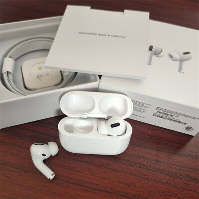 AU84.79 • Buy Apples Air-pods Pro Wireless Bluetooth Earphones With Charging Case White AU