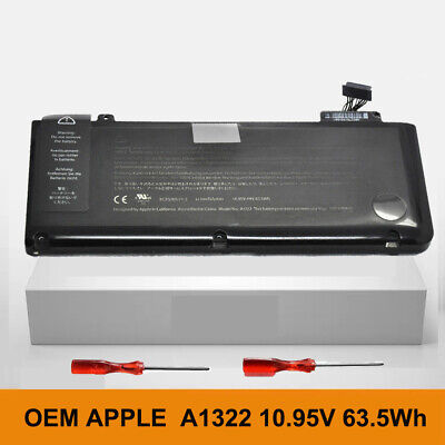 $28 • Buy A1322 Genuine Battery For Apple MacBook Pro 13  A1278 Mid 2009 2010 2011 2012