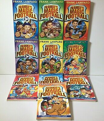 £13.75 • Buy Frankie's Magic Football  Frank Lampard  10 Book Collection 1-10