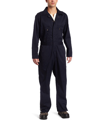 $35.27 • Buy Key Industries Mens Deluxe Unlined Long Sleeve Coverall Navy Blue  L T New Nwt