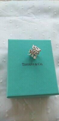 £170 • Buy Tiffany And Co Sterling Silver Ring. Limited Edition Paloma Picasso Leaf Design.
