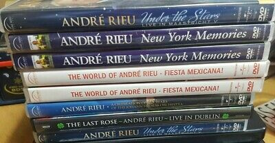 £4.99 • Buy Various Andre Rieu Dvds At Excellent Prices And Multi Purchase Discount