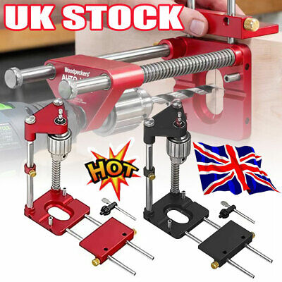 £20.96 • Buy Woodworking Tool Drill Locator Adjustable Punch Locator Drill Template Guide UK