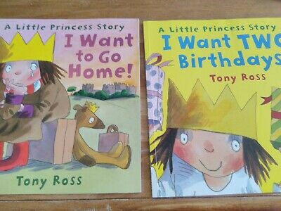 £5 • Buy The Little Princess By Tony Ross 2 Books