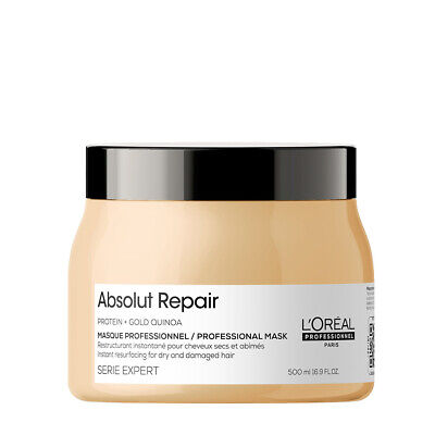 £21.90 • Buy L'Oreal Professional Serie Expert ABSOLUT REPAIR Protein Hair MASQUE Mask 500ml