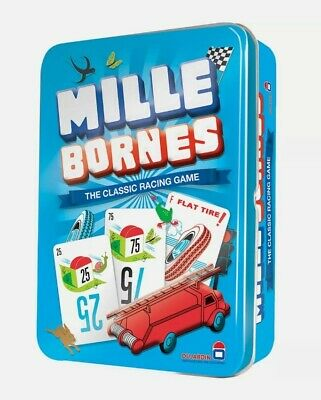 $29.99 • Buy Mille Bornes Card Game Classic French Auto Car Racing Mile Bourne Touring Tin